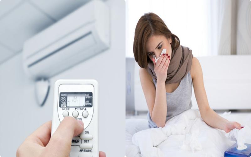 Nhiệt độ dưới 20 độ C không tốt cho sức khỏe