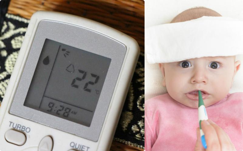 Nhiệt độ thấp có thể khiến bé bị bệnh đường hô hấp